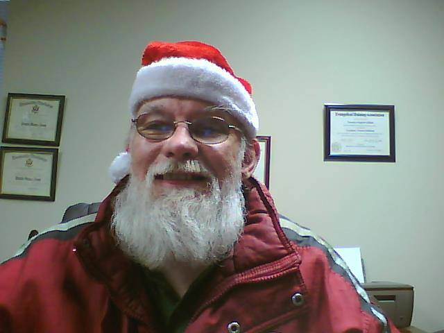 Tim Elliott at Christmas