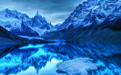 Icy Mountains Wallpapers (1)